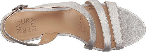 Picture of Naturalizer Women's Taimi Heeled Sandal, Silver, 8.5 W US