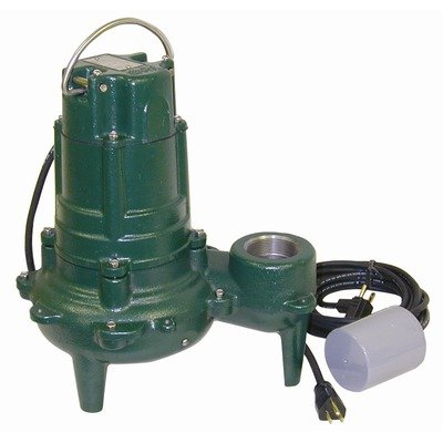 Sewage Pump with Variable Level Float Switch by Zoeller