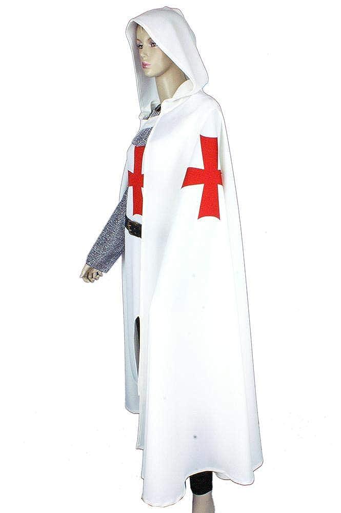 Medieval Factory Traje Templario mujer 8 Beatitudes - Blanco ...