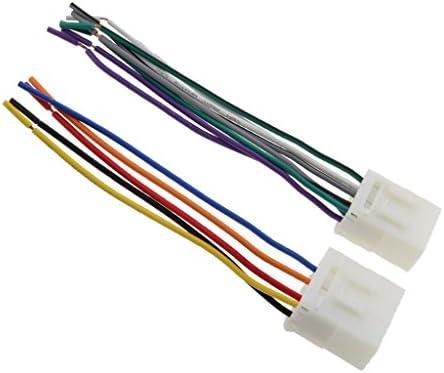 オーディオハーネス プラグ ケーブル 車用 マツダ323 626 MX3 MX5に適用