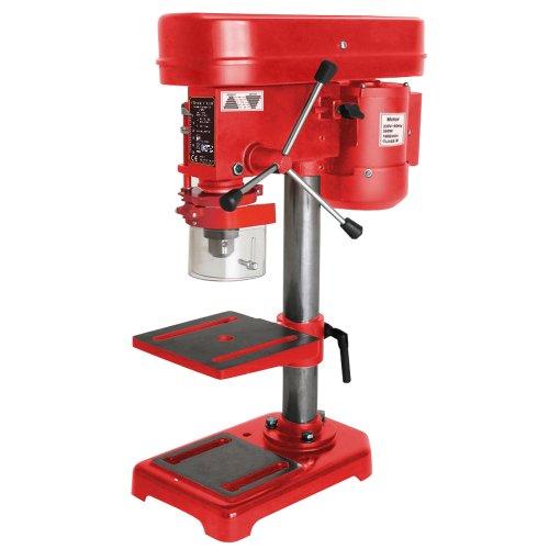 Timbertech Säulenbohrmaschine Standbohrmaschine 580 bis 2.650 min-1 (5 Stufen), 350W - TÜV-Süd GS zertifiziert