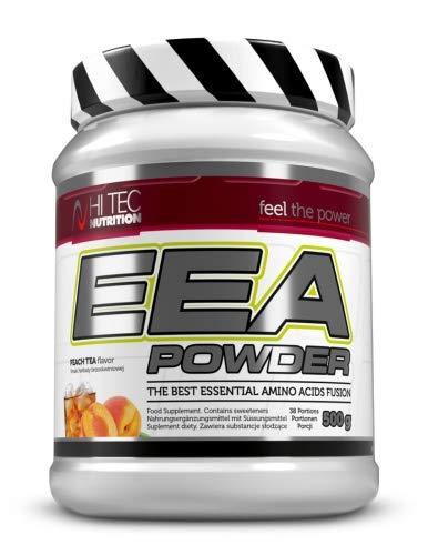 Hi Tec Nutrition – EAA Pulver 500g – AAE Powder – Top Löslich – Hoch Dosiert – Super Geschmack Pfirsich Eistee