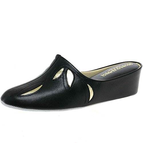 pour Relax femme Chaussons Relax Chaussons Noir pour dTdaFx
