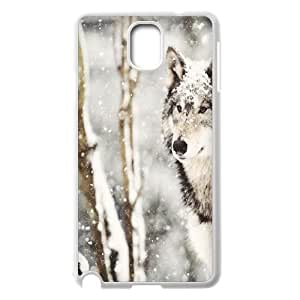 Customized Case Cover for SamSung Galaxy Note3 n9000 - Wolf case 3
