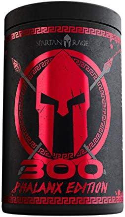 Gods Rage 300 PHALANX EDITION SPARTAN RAGE, 400 g Dose, War Berry