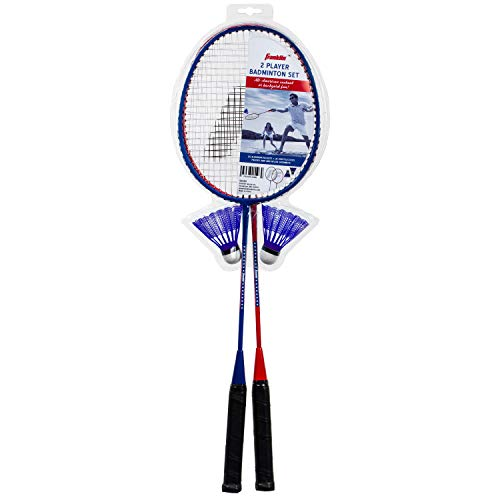 Franklin Sports Red, White & Blue 2 Player Badminton Racket Set One Size