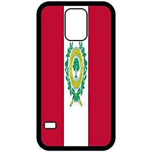 Raleigh North Carolina NC City State Flag Black Samsung Galaxy S5 Cell Phone Case - Cover