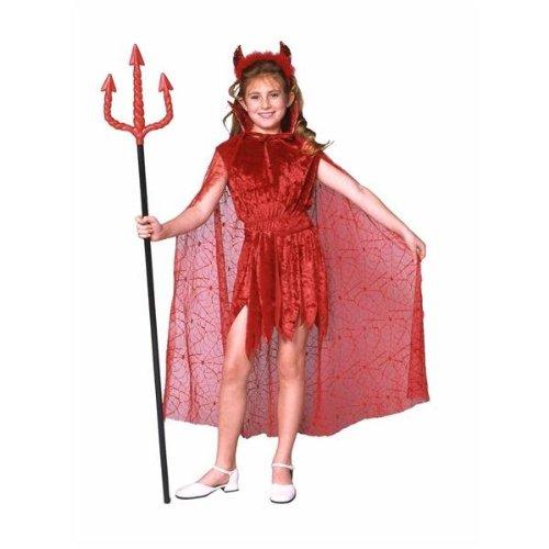 Devil Costume Child (RG Costumes Glamour Devil with Cape)