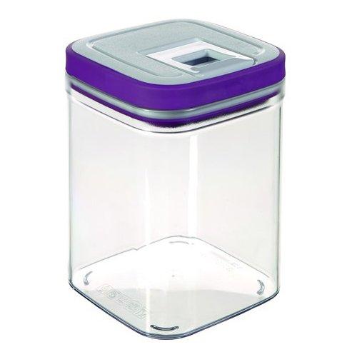 CURVER Púrpura Grand Chef congelador Cube, microondas recipientes ...