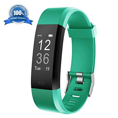 Fitness Armband HolyHigh YG3 Plus HR Pulsuhr Aktivitätstracker mit Herzfrequenz Monitor / wasserdichter /Schrittzähler / Anrufbenachrichtigungen / Ruhemodus/ Kamerabedienung / Modus für die Musikwiedergabe / Kalorienzähler / Pausenerinnerung für Android und iOS