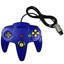 Bowink Game gaming pad console Controller For N64 (Blue)