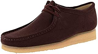 CLARKS Men's Wallabee Burgundy Suede 10 D US (B01NCUW1RS)   Amazon price tracker / tracking, Amazon price history charts, Amazon price watches, Amazon price drop alerts