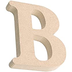 MagiDeal Wooden Full Letters Alphabet Wedding Party Home Decoration DIY Art Craft Supplies Word B
