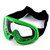 Motocross ATV Dirt Bike Ski Snowboard MX Goggles , Green