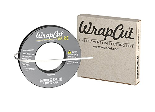 WrapCut Wire, Edge Cutting Tape, 3/16-Inch X 150 Feet, 1 Roll