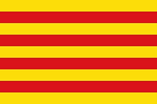 magFlags Bandera XXS Cataluña   bandera paisaje   0.24m²   40x60cm