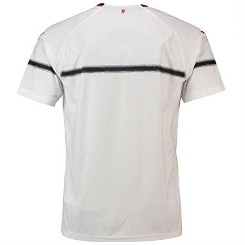 Maillots logo Maglia con sponsor Milan Puma Ac Homme Ss White Replica Away 00gzxWq