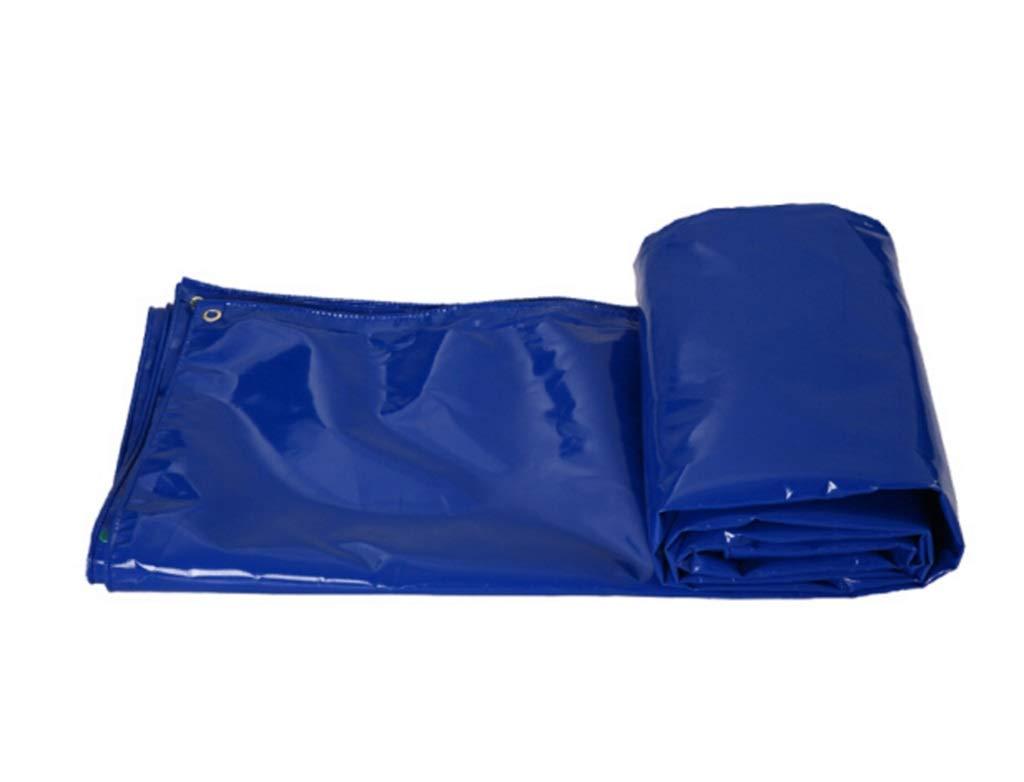 QQHWDT LYX® Verdickte Plane, Plane-Blauer Oxford-Stoff-Messer-Schaber Push-Pull-Schuppen-Sonnenschutz-Stoff-LKW-Plane-Stoff DREI Anti-Stoff Plane B07JGKPGQJ Zeltplanen Leicht zu reinigende Oberfläche
