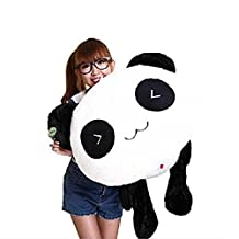 YunNasi Simle Stuffed Animals Lying Panda Plush Pillow Cushion Children Toy(17.7 inches)