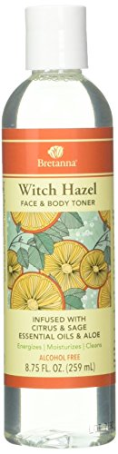BRETANNA Citrus Sage Witch Hazel Toner, 0.02 Pound Review