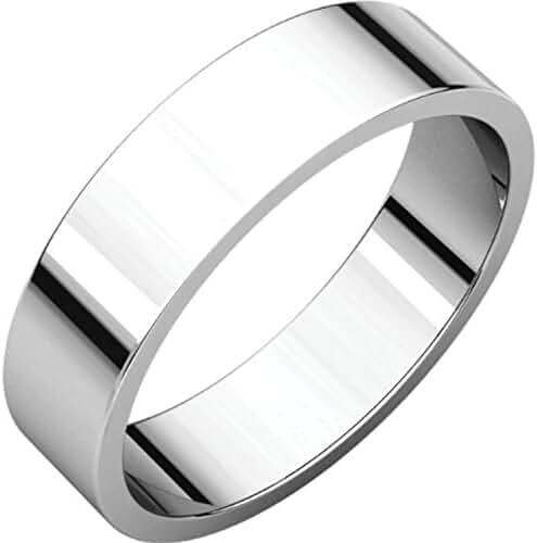 Palladium 5mm Flat Band