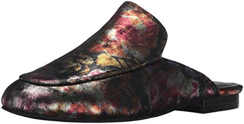 on sans Metallic Wallice Mule Cole Métallisé New Femme Kenneth Floral Mules Slip Multicolore Floral Lacets YorkWallice wv4IWTq