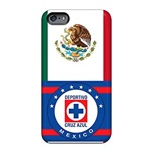 Best Hard Phone Cover For Apple Iphone 6 Plus With Customized Trendy Cruz Azul Mexico Image WayneSnook