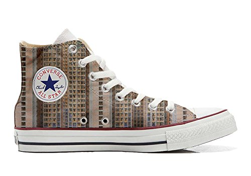 Converse All Star zapatos personalizados Unisex (Producto Artesano) Architecture Of Density