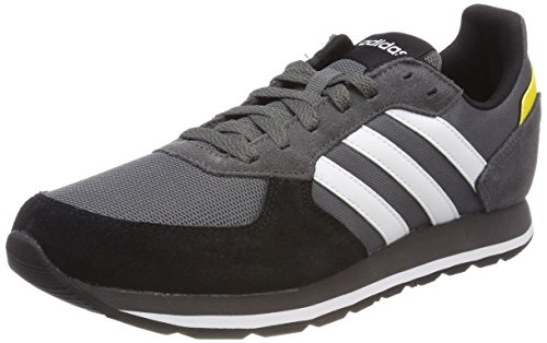 8k Men Core Trainers Grey White adidas Footwear Black Grey Five 5vqdW5nw8