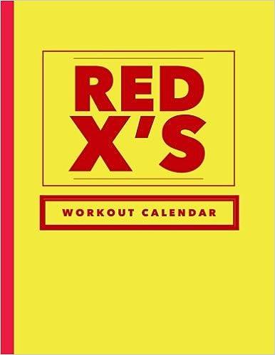 Descargar It Por Utorrent Red X's Workout Calendar: Track Your Workouts Epub Gratis 2019