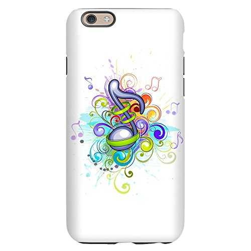 iPhone 6 Slim Case Musician Music Note Colorful HD