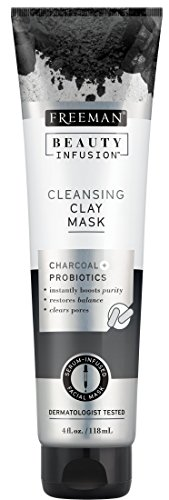 (Freeman Beauty Infusion Mask Cleansing Clay 4 Ounce (Probiotic) (118ml))