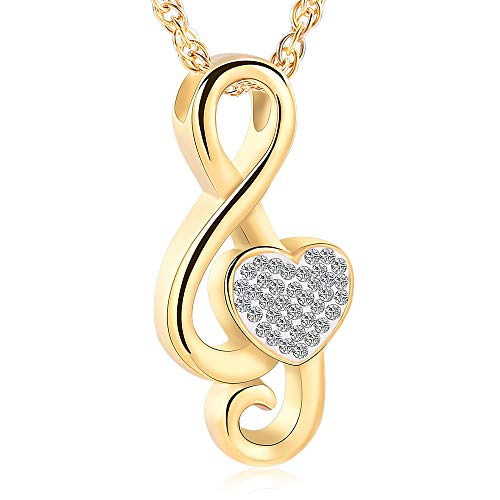 - Music Note Urn Ashes Pendant Memorial Keepsake Jewelry Treble Clef Locket Ash Keepsake Holder Memorial Jewelry Fillable Jewelry