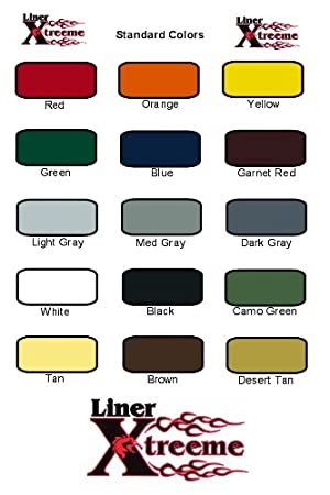 Amazon Com Linerxtreeme Spray On Bedliner Kit 3 0 Gal Color Kit
