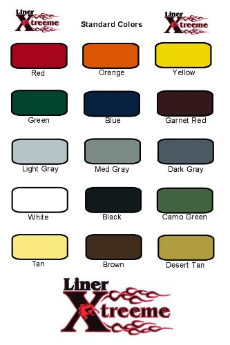 LinerXtreeme spray on Bedliner Kit 3.0 gal COLOR KIT - 12 liters! by LinerXtreeme (Image #2)