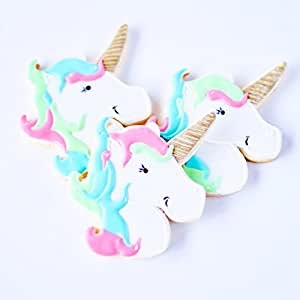 ½ Dz. Unicorn Cookies Fantasy, favors, birthday, gifts and more