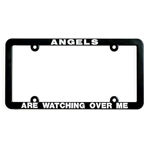 Dicksons Angels are Watching Over Me Religious Christian License Plate - Over License Plate