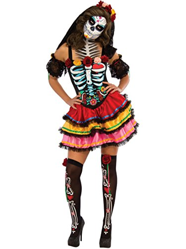 Rubie's Women's Day Of The Dead Senorita Costume, Multicolor, Large for $<!--$29.99-->