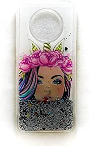 Moving Glitter Back Cover For Infinix Note 7 / X690 - Multi Color
