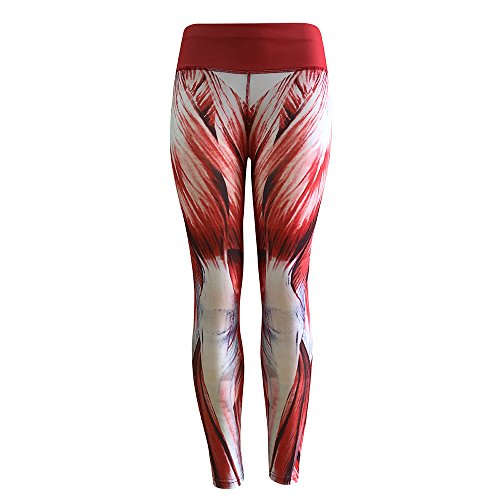 Print Leggings Avenue (URIBAKE ❤ Fashion Women's Workout Leggings Print Muscle Fitness Sports Gym Running Yoga Athletic Pants)