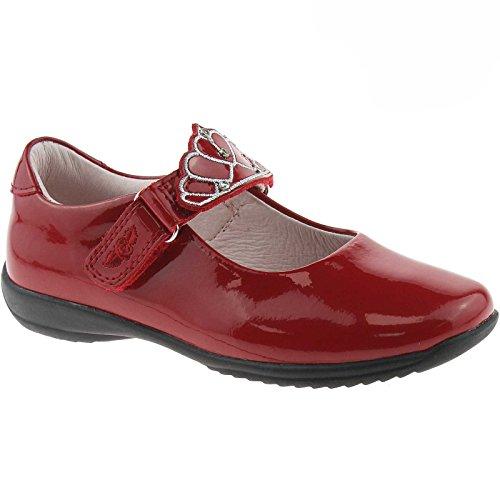 Lelli Kelly LK8100 (DD01) Red Patent Missy Dolly School Shoes F Width-31 2e64aa26e4