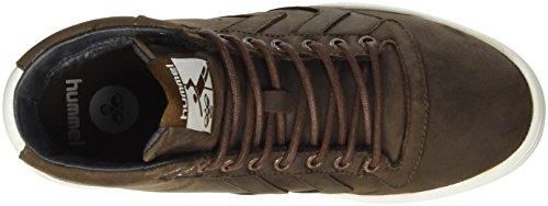 Hummel Hml Stadil Winter High Sneaker, Zapatillas Altas Unisex Adulto Marrón (Chestnut)