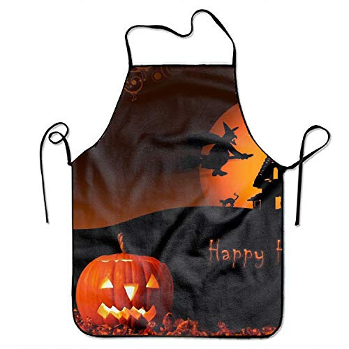 (Eartha Tracy Unisex Kitchen Aprons Cool Halloween Chef Apron Cooking Apron Barbecue)