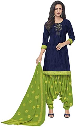 Miraan Women Cotton Un-stitched Dress Material