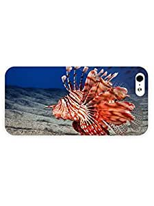 3d Full Wrap Case for iPhone 5/5s Animal Funny Looking Fish