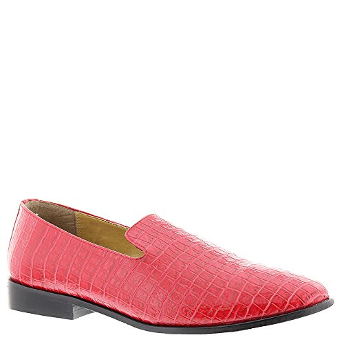 Giorgio Brutini Mens Heed Smoking Loafer Red