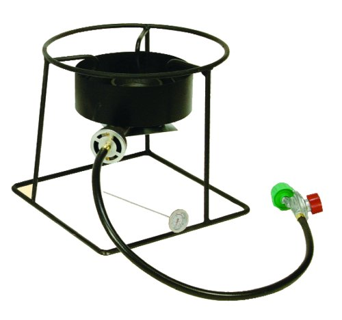 King Kooker 1201 12-Inch Outdoor Propane Burner with Stand