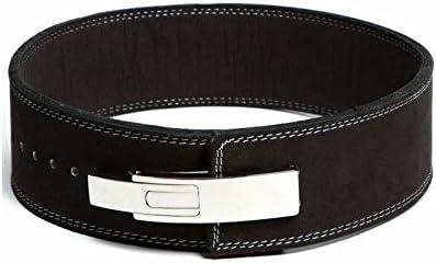 FlexzFitness Leather Power Lifting Belt for Men /& Women Lower Back Support XL