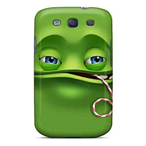 Awesome RXG173MgGq Richardcustom2008 Defender Tpu Hard Cases Covers For Galaxy S3- Lazy Monster