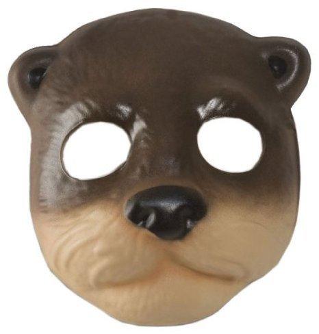 Super Comfort Foam River Otter Mask (Otter Costume)